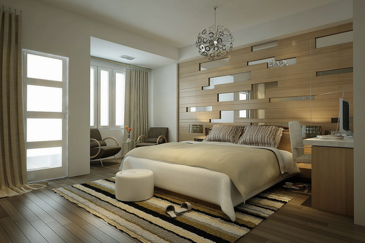 Modern Industrialist Bedroom